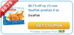 $0.75 off ny (1) one SeaPak product 8 oz
