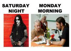 Metal humor