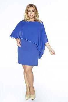 Modré pouzdrové šaty Kartes Renata c458d0ca96