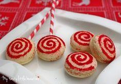 Christmas Cookie Club: 16. Türchen - Candy-Macarons von My tasty little beauties