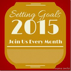 Setting goals month by month is one of my favorite ways to stay focused on what matters most while getting things done. Want to join in? It's easy! There's a Linky for posts on my blog, but you can also jot your goals down, take a photo, and tag it on Instagram with #monthlygoals to play along.