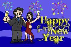 Miketoon de año nuevo :) Happy new year