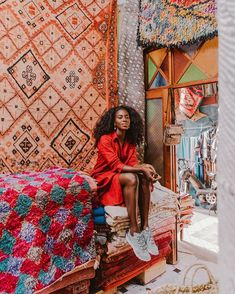 Exploring marrakech with nike: best tips for haggling in the souks Black Girl Magic, Black Girls, Black Queen, Poses, Beautiful Black Women, Dark Skin, Cool Outfits, Casual, Marrakesh