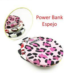 Batería Externa Power Bank Universal Tipo Espejo de 2800mAH - Batería Externa Power Bank Tipo Espejo de 2800mAH Utiliza todos tus dispositivos todo el día sin preocuparte por la batería. Excelente para viajes largos o para personas que usan intensivamente el móvil y no llegan al final del día. El diseño ligero y con espejo hacen que sea un complemento perfe... - http://www.vamav.es/producto/bateria-externa-power-bank-universal-tipo-espejo-de-2800mah/