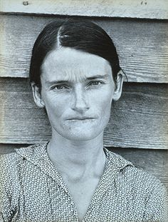 Walker Evans, Alabama Tenant Farmer Wife (Allie Mae Burroughs), 1936