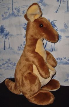 "Kangaroo Kanga 18"" Stuffed Animal Plushie Plush #UNIPAK"