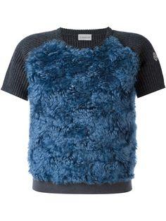 MONCLER 正面图案针织上衣. #moncler #cloth #正面图案针织上衣