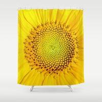 www.edwardfielding.com Sunflower Shower Curtain