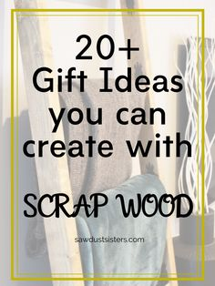 Twenty two amazing and simple wood projects ideas to use up your scrap wood. Perfect for yourself or gifts for any occasion. Woodworking Tutorials, Cool Woodworking Projects, Diy Furniture Plans, Art Furniture, Scrap Wood Projects, Best Budget, Gifts For Dad, First Love, Make It Yourself