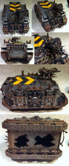 CSM Iron Warriors Rhino