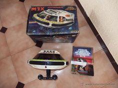 ¡LOS ORIGINALES! MADELMAN ORIGINAL Nave astronave M7X Cosmic con caja y catalogo R.800