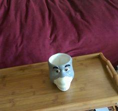 2004 DREAMWORKS SHREK  DONKEY 3D FIGURAL COFFEE CUP MUG CERAMIC FUN CARTOON