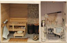 Sauna by Emilian kotona Havumetsäntiellä