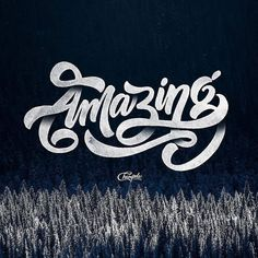 Really like the shading in this work by @champolatype | #typegang if you would…
