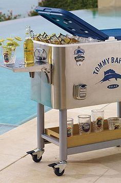 Tommy Bahama Swordfish Cooler...the best gift we ever got my father for Father's Day!!!
