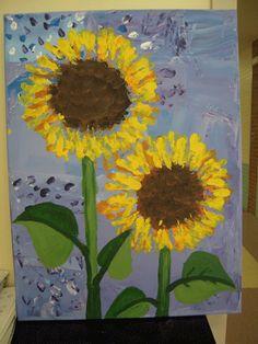 van gogh Square 1 Art, September Art, Montessori Art, 2nd Grade Art, Van Gogh Art, Easy Art Projects, Spring Art, Art Lessons Elementary, Autumn Art