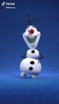 Olaf Dancing TikTok