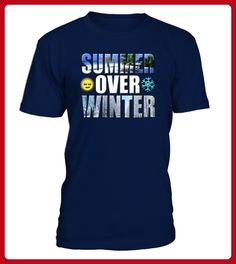 Summer Over Winter Vacation Graphic Apparel - Angler shirts (*Partner-Link)