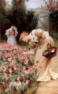 Frederick Morgan - At Tulip Rebate