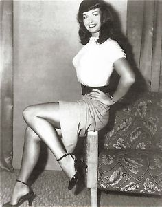 Bettie Page... what a beautiful and somewhat scandalous woman!