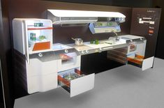 The Liberty Kitchen is innovative, space saving and accessible.