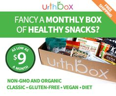 Gift your mom with a box of UrthBox snacks this Mother's Day! Use this $10 coupon for the best deal. Code: CRUNCHWEEK