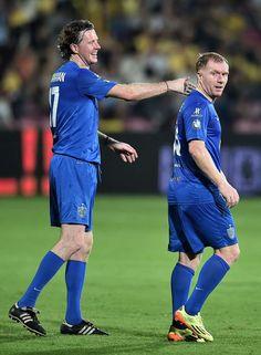 Steve McManaman i Paul Scholes - Goal.com