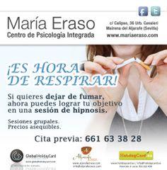 """Campaña de impacto del Centro de Psicología Integrada """"María Eraso"""" en """"Aljarafe Crece""""."""