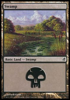 Swamp (1) ($.00) Price History from major stores - Lorwyn - MTGPrice.com Values for Ebay, Amazon and hobby stores!