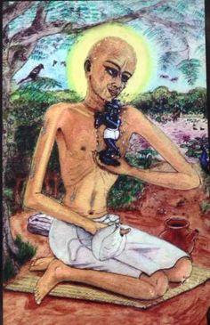 Under the instruction of Srila Rupa and Sanatana, Gopala Bhatta Gosvami installed one of the seven principal Deities of Vrindavana, the Radharamana Deity. Radharamana's miraculous appearance is described...