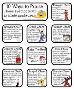 More cute cheers to use with Kagan Structures
