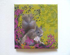 Squirrel goes baroque