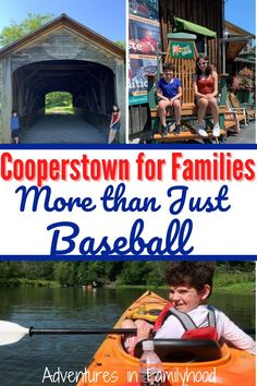 You may think Cooperstown is just about baseball. But this small town in upstate New York is so much more. Enjoy nature, sports, history and great food.