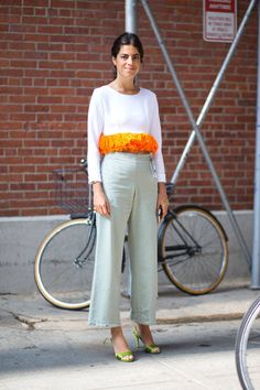 The chicest street style looks spotted on Day 1 and 2 of New York Fashion Week. See them all here.
