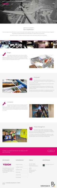 Vision Branding are one of the leading suppliers of branding solutions in Ireland and now they have a gorgeous brand new WordPress site that matches! Of Brand, Web Development, Ireland, Wordpress, Product Launch, Branding, Marketing, Tips, Brand Management
