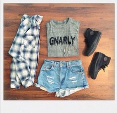 Even though I don't like to wear short shorts but I would definitely try this outfit.