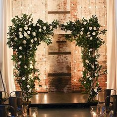 They mixed it up with a creative cocktail-style reception.