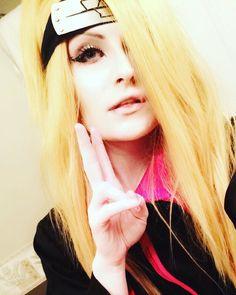 Last one for now! Gotta go into work loves   #sasodei #sasori #shout_out #shoutout #cosplayshoutouts #akatsuki #akatsukicosplay #queer #weeaboo #weeabootrash #naruto #narutocosplay #narutoshippuden #narutoshippudencosplay #cosplay #cosplayer #dei #deidara #deidaracosplay #anime #animeboy #androgynous #animecosplay #manga #makeup #mangacosplay #dudelookslikealady #blonde