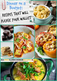 28 Budget Slow Cooker Recipes for a Crowd + Bonus Budget Recipes | These are some of the best slow cooker recipes because they won't break the bank.