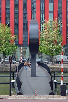 Ibis Brug, Rotterdam, Zuid-Holland.