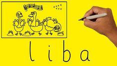 Hogyan készítsünk szavakból rajzot - LIBA