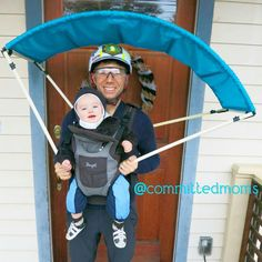 20 family costumes themselves make ideas for carnival that everyone will love - Familienkostüme selber machen - Halloween Stroller Halloween Costumes, Stroller Costume, Family Halloween Costumes, Halloween Pictures, Family Costumes, Baby Costumes, Carnival Costumes, Baby Carrier Costume, Halloween Bebes