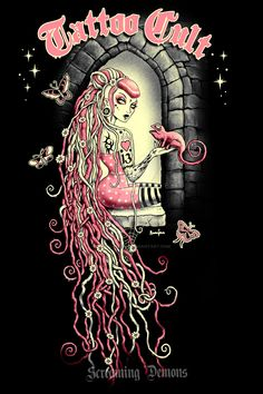 Tattoo Cult 11. Rapunzel by MarcusJones on DeviantArt