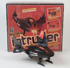 Star Bird Intruder electronic spaceship with packaging