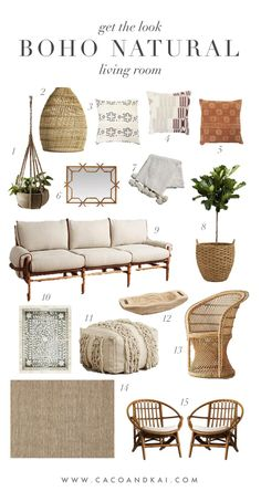 Excellent Boho neutral living room moodboard The post Boho neutral living room moodboard… appeared first on Feste Home Decor . Home decor Boho neutral living room moodboard… Coastal Living Rooms, Boho Living Room, Natural Living Rooms, Living Room Neutral, Boho Room, Cozy Living, Estilo California, Interior Design Living Room, Living Room Designs