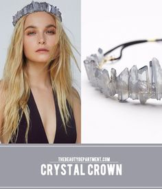 this crystal crown is to die for! obsessed.