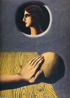 La Promesse salutaire René Magritte (1927-1928) Private collection Painting - oil on canvas
