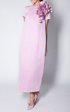 Lavender Pink Faille Peony Maxi Dress by Esme Vie Kleidung Design, Mode Outfits, Evening Dresses, High Waisted Skirt, Party Dress, Fashion Dresses, Cold Shoulder Dress, Dress Up, Style Inspiration