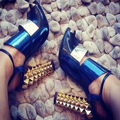 These heels will add instant amazingness to any ensemble. // #EvaChen #CelebrityStyle #StreetStyle