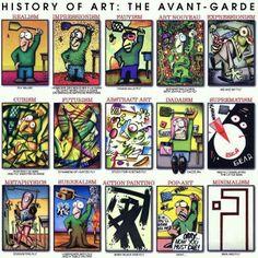Historia del arte con mosca de fodo